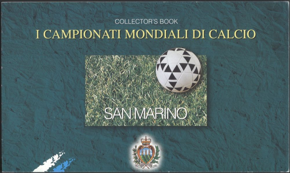 San Marino 1998 Football World Cup Championships/ Sports/ WC/ Games/ Soccer  12v Prestige Booklet (bklt) (n44844a)